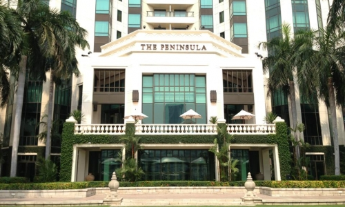 The Gay Travel Guru does The Peninsula Hotel Bangkok
