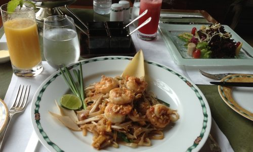 Gay Travel Guru's Visit to Bangkok: Food