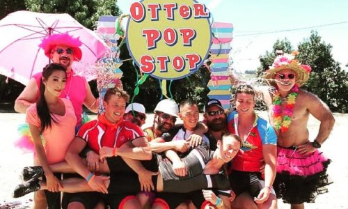 Gay Travel Gurus Davey Wavey and Princess Joules Hit the Road with AIDS Lifecycle