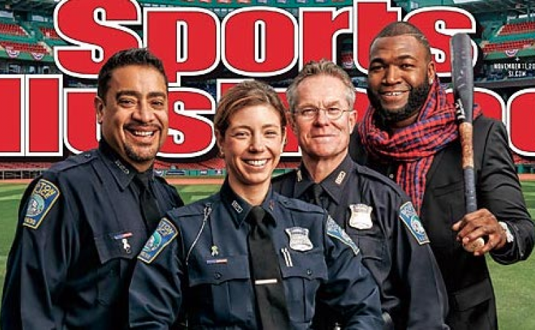 "#BostonStrong – Remembering gay Boston Marathon first responder's ""Sports Illustrated"" Cover Image"