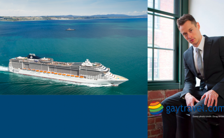 MSC Cruises and Davey Wavey Twitter Chat Image