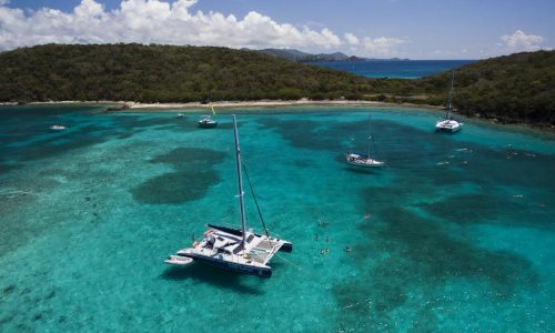 Snorkel & Sail Followed By Lunch From St. Thomas' First Floating Pizzeria