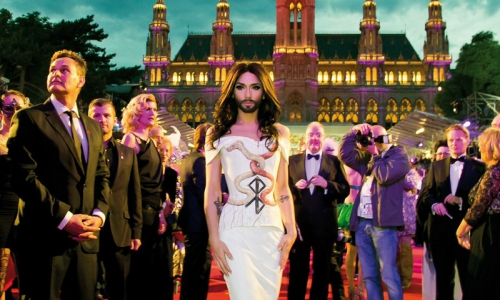 Davey Wavey: Vienna's Life Ball: Be There.