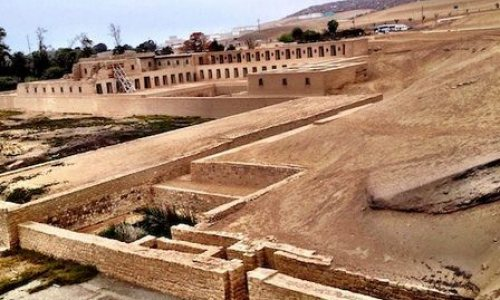 Ruins of Pachacamac in Lima