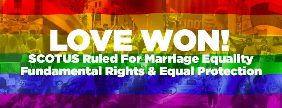 Join Us in Celebrating One Year of Marriage Equality Image