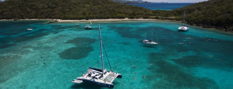 Snorkel & Sail Followed By Lunch From St. Thomas' First Floating Pizzeria Image
