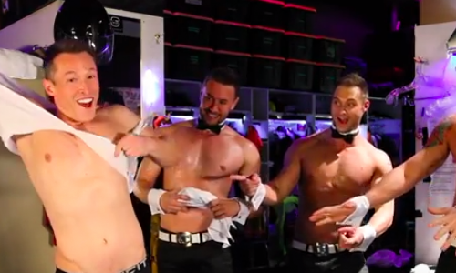 Davey Wavey Becomes a Chippendales Dancer