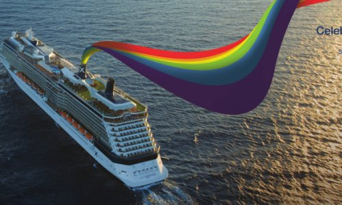 Celebrity Cruises Throws the Largest Pride Party at Sea