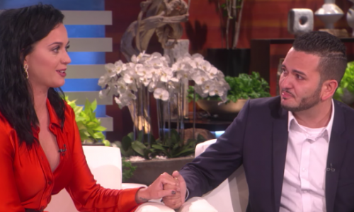 Katy Perry Surprises Pulse Nightclub Survivor on Ellen