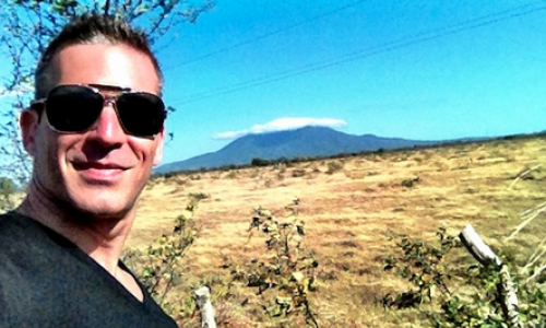 Carlos Melia goes to the Nicaragua Canopy and hiking at Mombacho Volcano