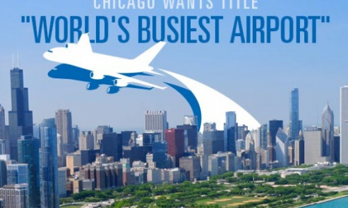"Chicago Wants ATL's Title ""World's Busiest Airport"""