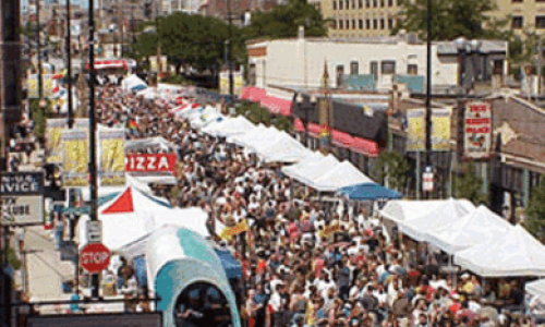 Chicago's Famous Northalsted Market Days in August