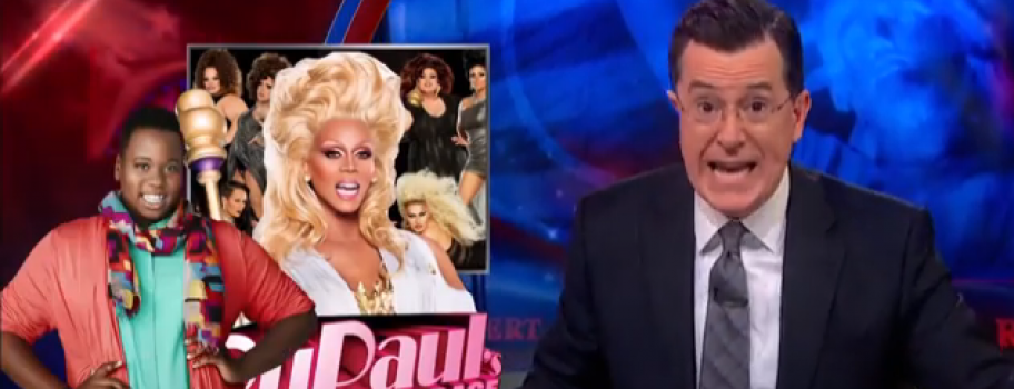 Stephen Colbert Perfectly Lampoons The Media's Transphobia Main Image