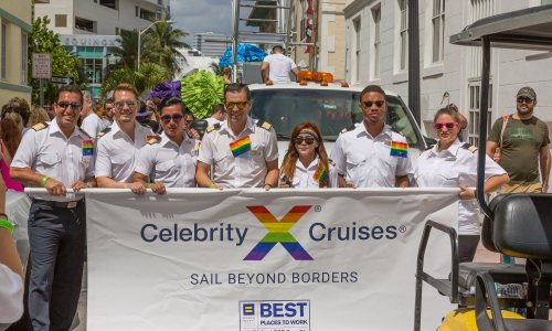Celebrity Cruises & Miami Beach Pride 2018