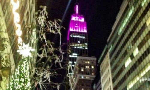 The Empire State Building's new LED Lights