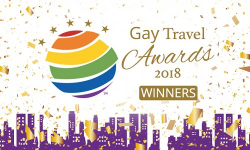 Congratulations to the 2018 Gay Travel Award Winners!
