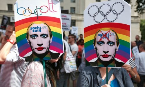 Top Five Ways to Show Your Support for LGBT Rights at the Sochi Olympics