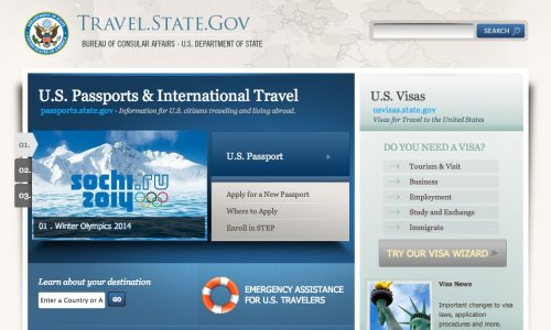 U.S. State Department Unveils Smarter, Better Designed Travel Site