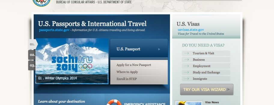 U.S. State Department Unveils Smarter, Better Designed Travel Site Main Image