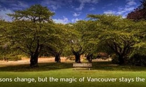 Tourism Vancouver – Choose Your Season Sweepstakes