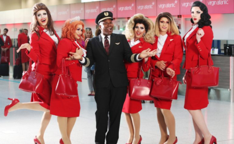 Sky-High Pride Party: Virgin Atlantic Plans to Celebrate Pride 2019 with First Ever 100% LGBT Staff Image